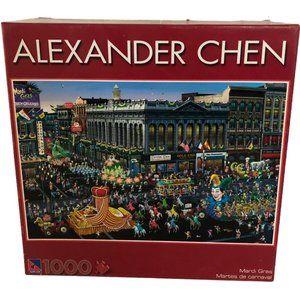 Mardi Gras Alexander Chen 1000PC Puzzle
